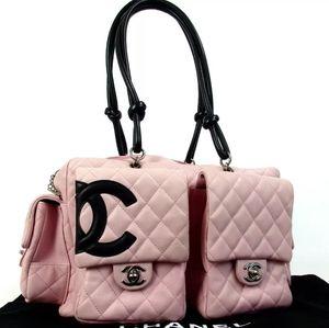 Chanel Cambon multipocket reporter bag